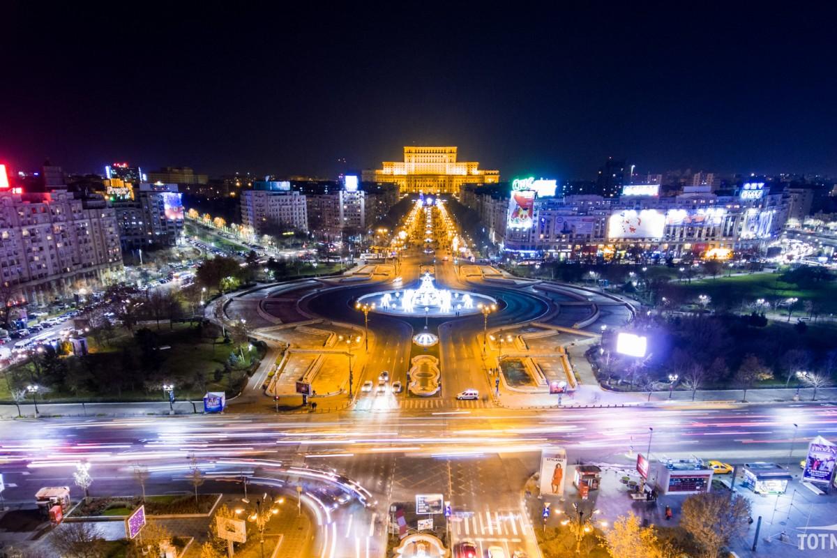 Unirii Square, Bucharest, Romania