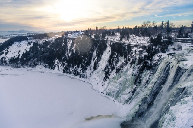 Mont Morency Falls