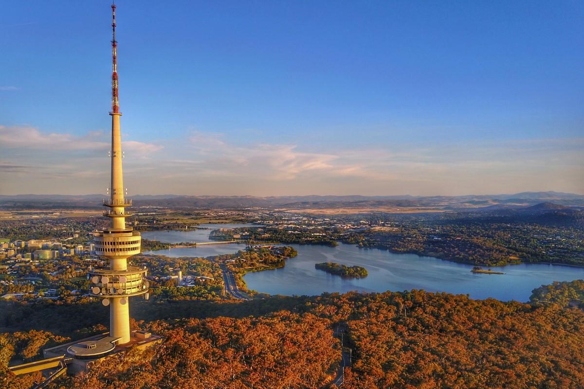Telstra Tower, Canberra, Australia