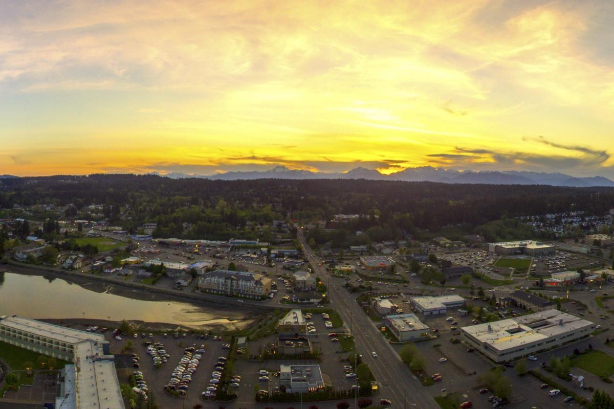 Gateway Park, Silverdale, Washington, USA