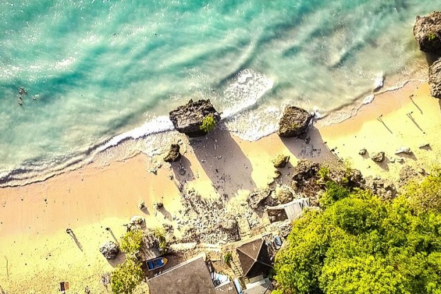 Padang-padang beach, uluwatu, Bali, Indonesia