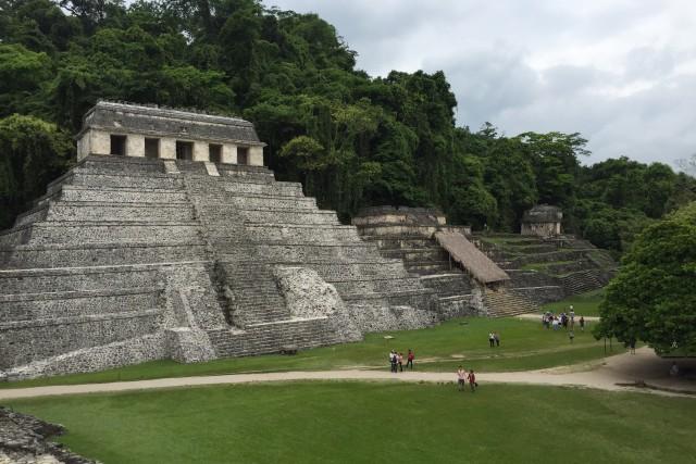 Palenque, Pyramids,  MX
