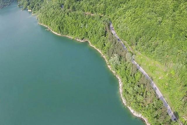 Types of green at Paltinu Dam, Romania