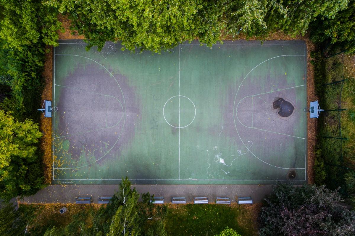 Park Szczęśliwicki, Warszawa, Poland