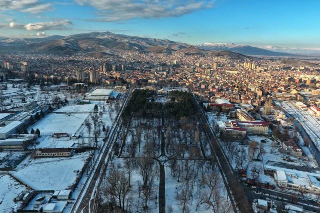 Gradski park, Bitola