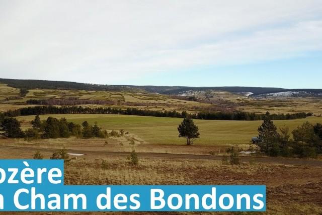 Cham des Bondons, Lozère, France