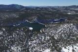 Goldwater Lake Prescott AZ after it had snowed.