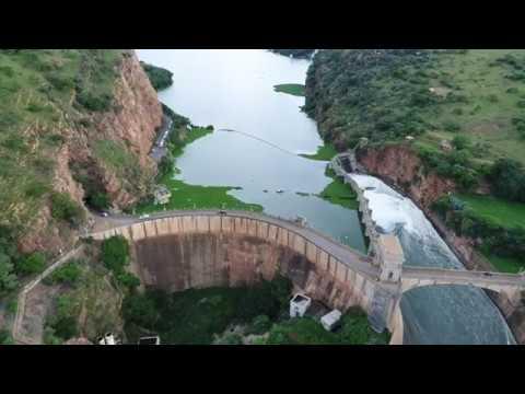 Haartbeestpoort dam sluise gates, South Africa