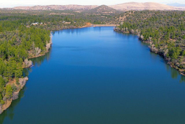 Prescott AZ Aerial Photography LYNK LAKE