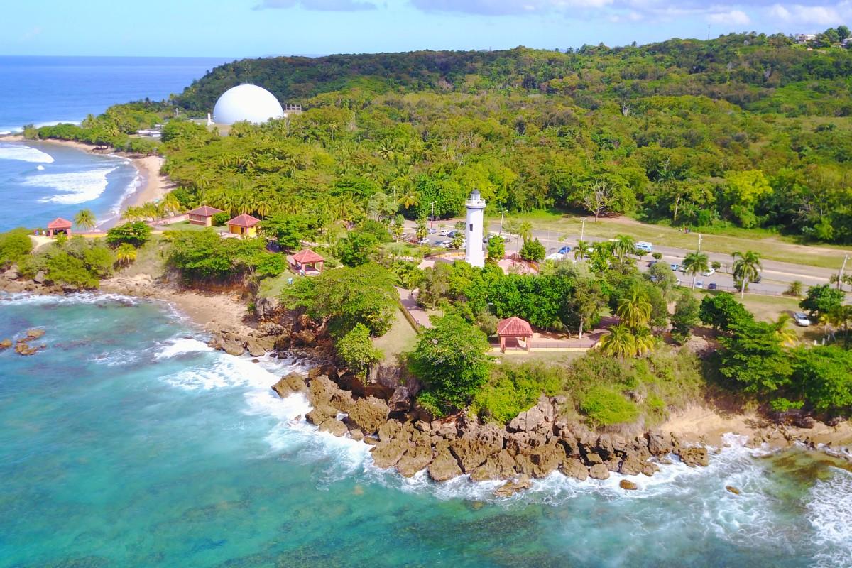Punta Higüeras Lighthouse , Rincon, Puerto Rico
