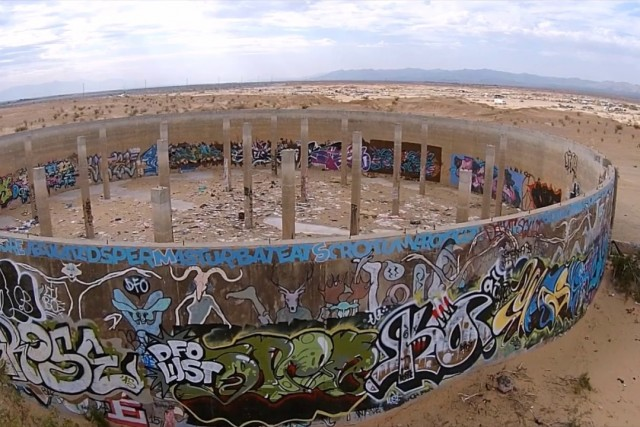 Slab City Water Tanks