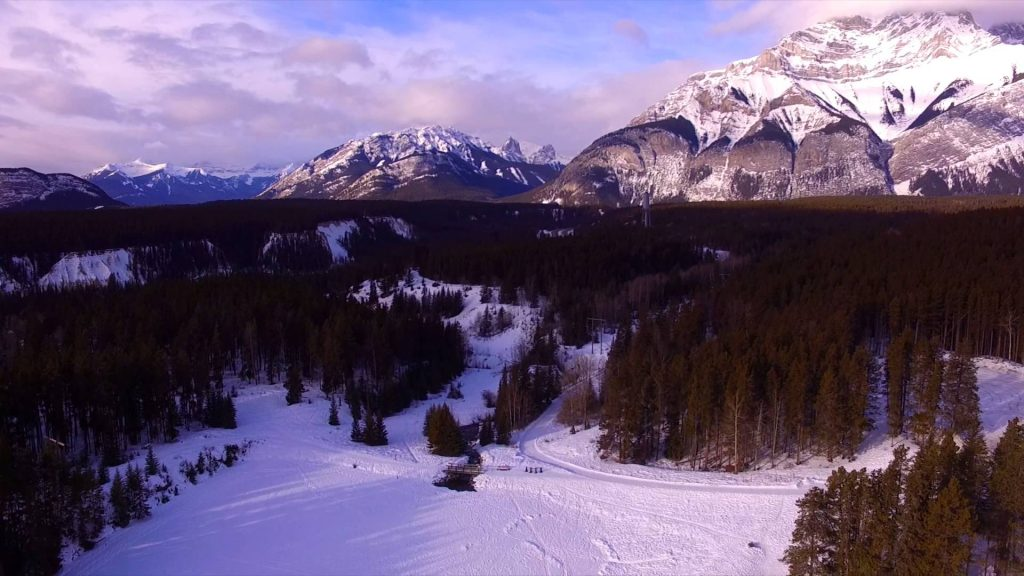 top winter destinations canada dronestagram