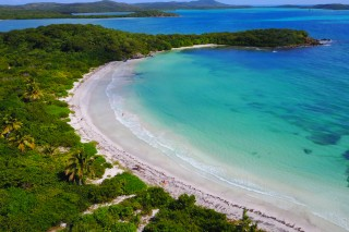 La Plata beach, Vieques, Puerto Rico