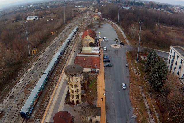 Serres Greece – RailRoad Station