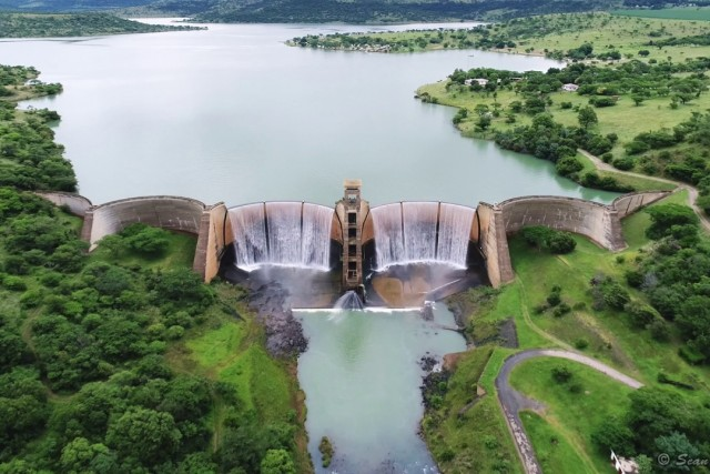 Wagendrift Dam Wall, Howick, South Africa