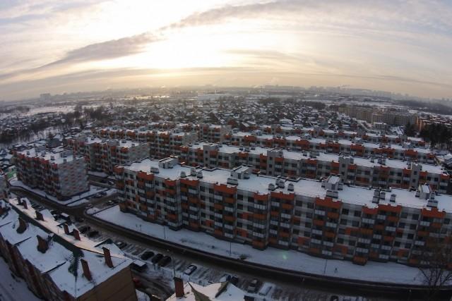 Зима в Марусино