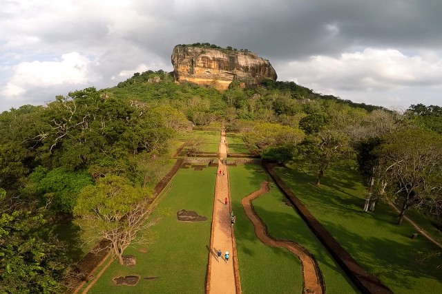 Sigiriya Lions Rock, Sri Lanka