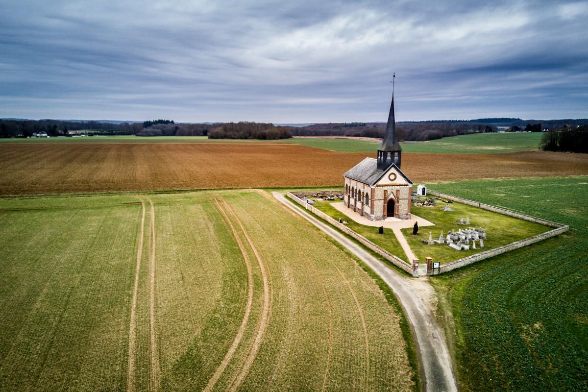 Chapelle Du Mesnil Fuguet Dronestagram