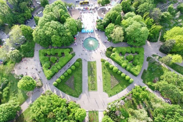 Kyiv botanic park