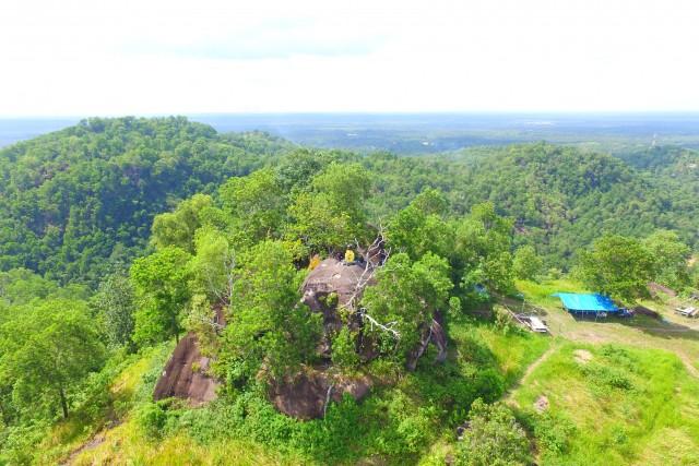 Tangkiling Hill, Banturung, Palangka Raya, central of Kalimantan