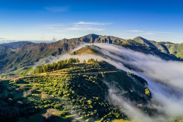 Mirador de degollada becerra, Gran Canaria, Spain