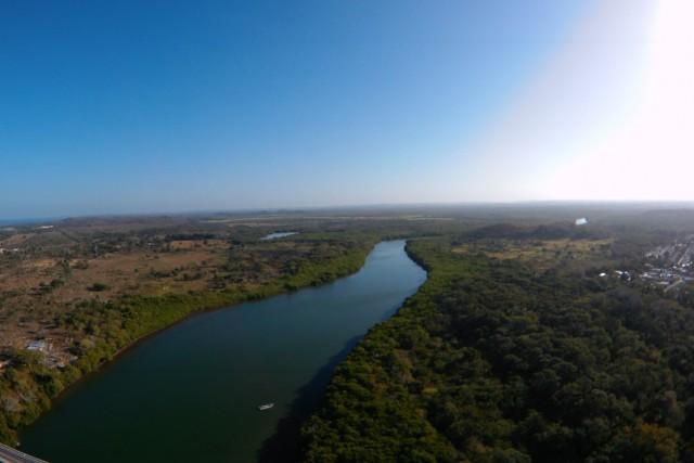 Río Champotón, Campeche, México