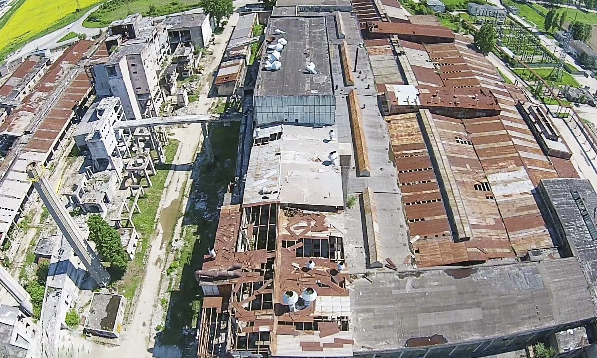 Communist era factory