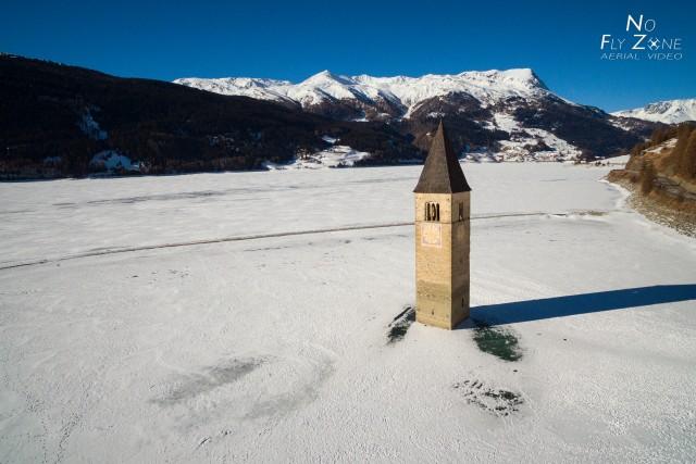 Resia Lake, Alto Adige – Italy
