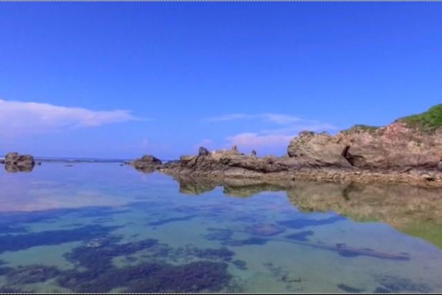 Adan Beach,Kunigami Village,Okinawa,Japan