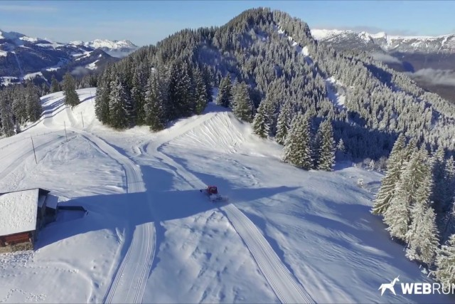 Bellavarde nordic skiing trail – Nordic Area of Les Confins