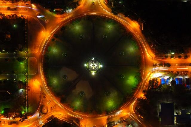The Big Circle, Central of Palangka Raya city