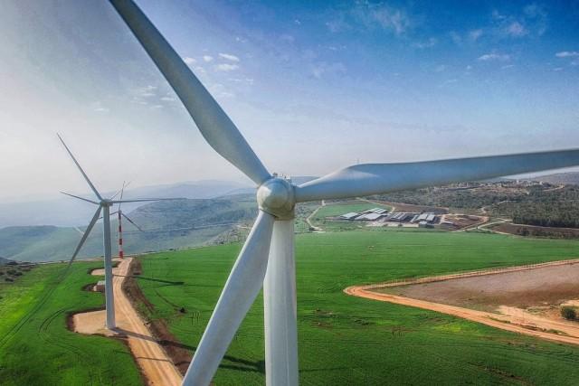 Gilboa wind farm, Israel 4K By Eyal Asaf