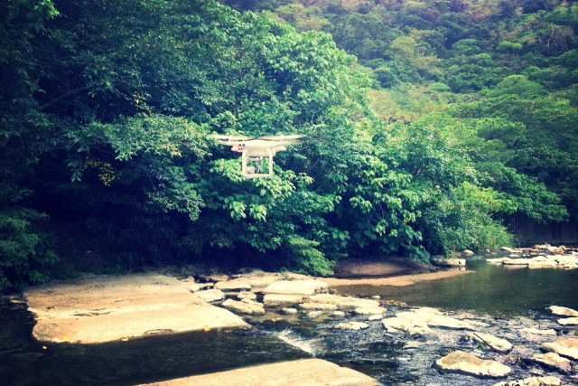 Genka River,Genka,Nago,Okinawa,Japan