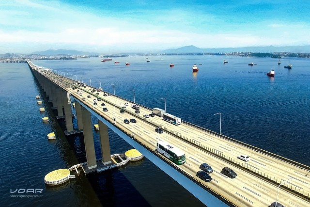 Rio-Niterói Bridge, RJ, Brazil