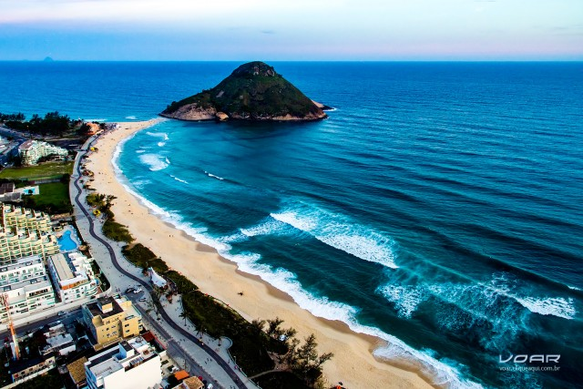 Macumba Beach and Pontal Stone, Rio, Brazil