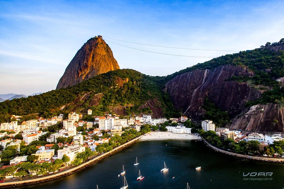Urca Beach and Sugar Loaf, Rio, Brazil