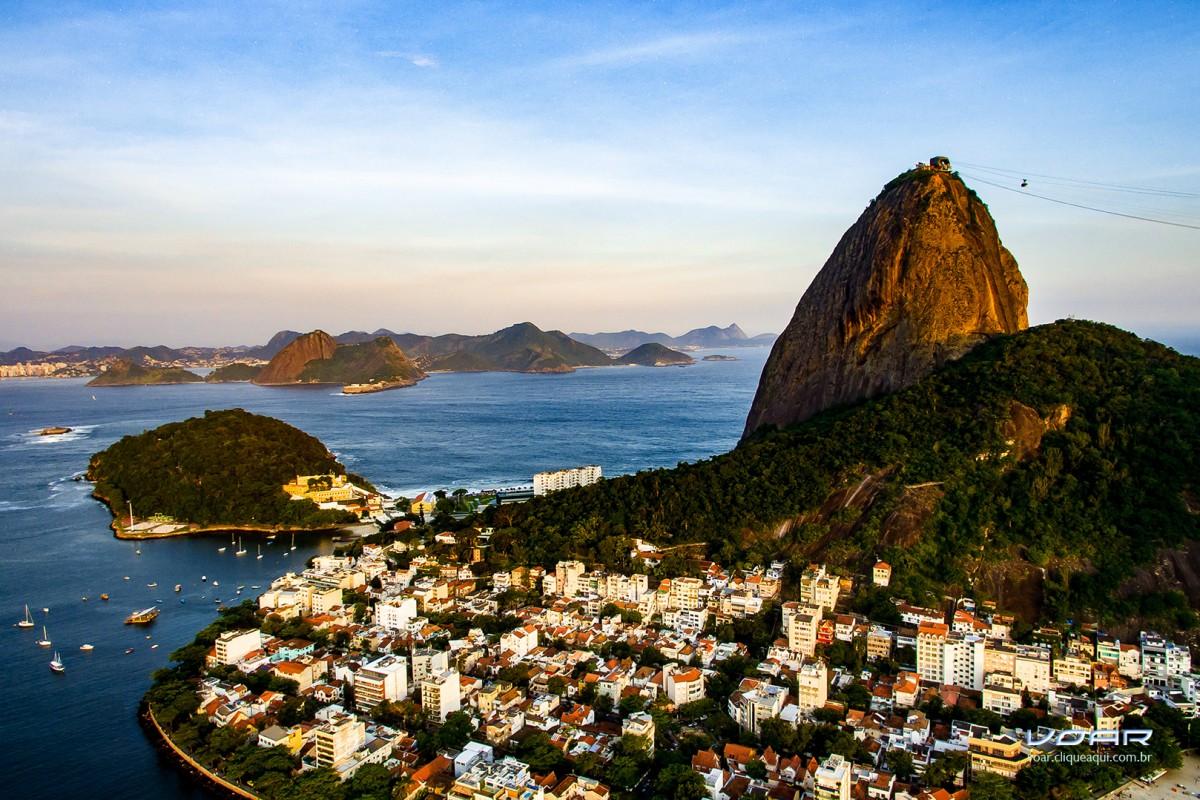 Urca Neighborhood and Sugar Loaf, Rio, Brazil
