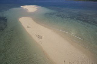 Land of the long white sand island….