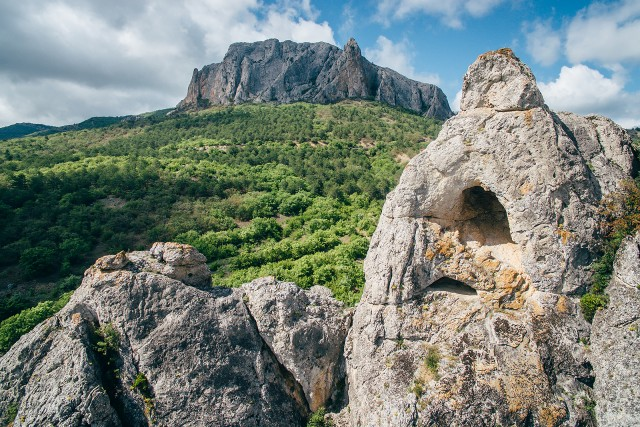 The cave in rock