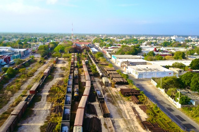 Old train station, Merida Yucatan, MX
