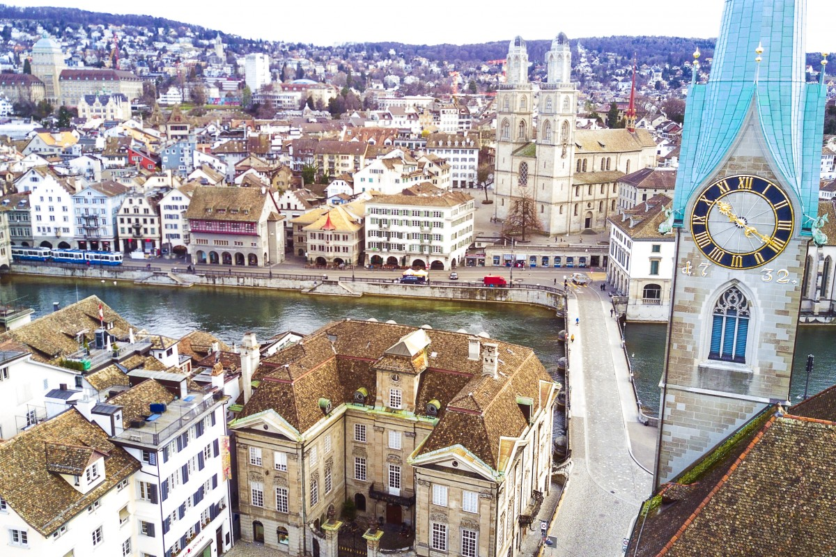 Churches in Zurich