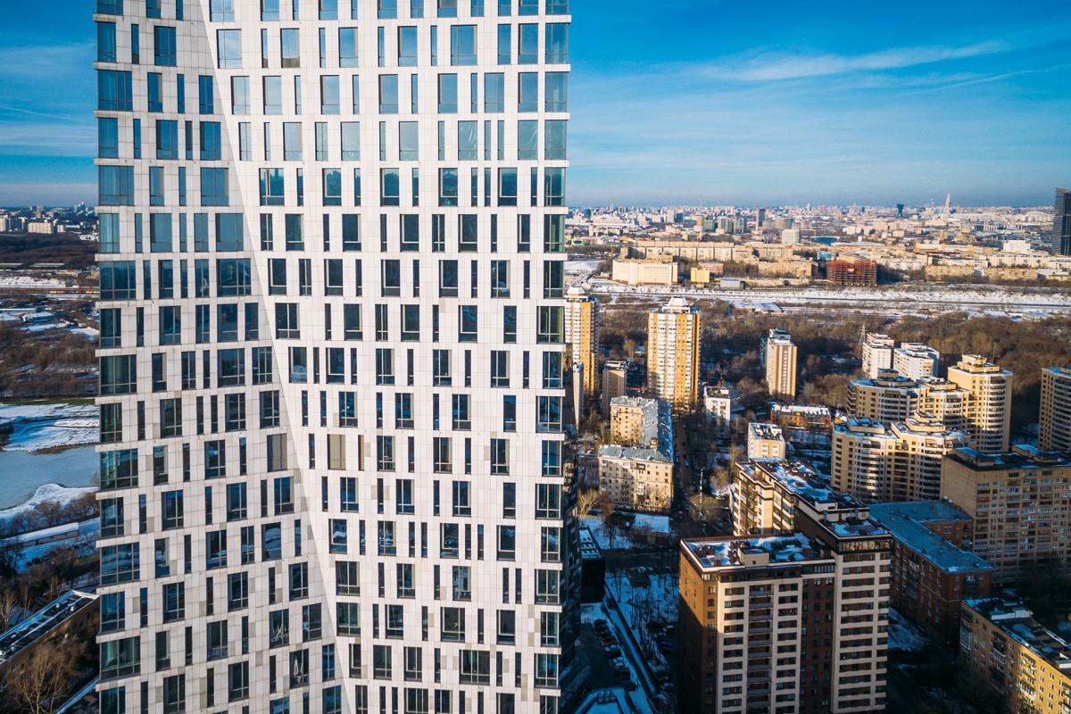 Moscow skyscraper