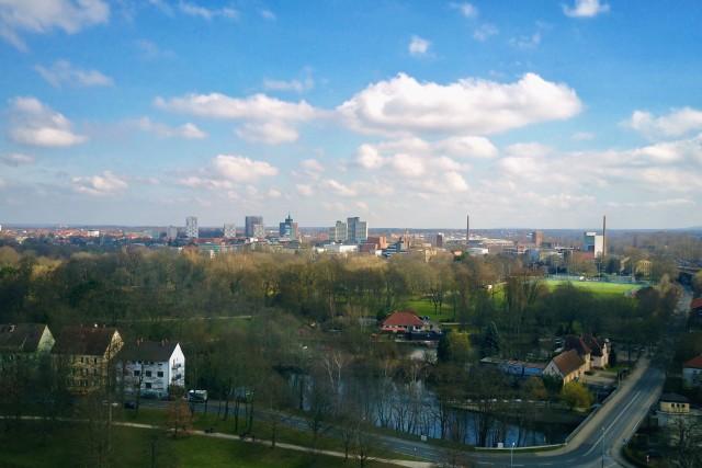 Skyline of Braunschweig