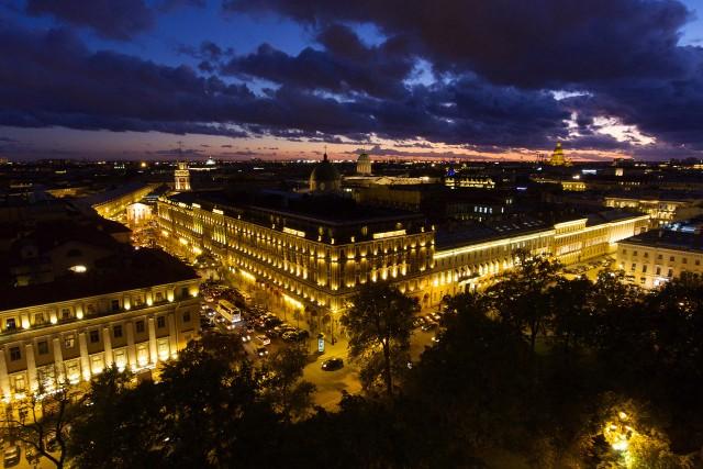 Arts Square, Saint Petersburg, Russia