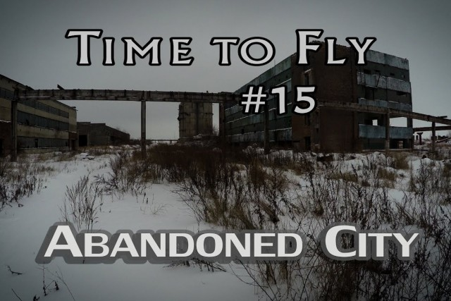 Abandoned places – ghost city like Silent Hill 4k