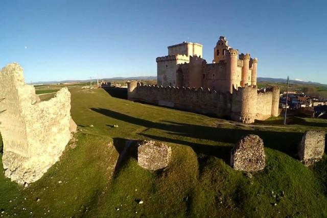 Castillo de Turegano, Segovia, España.