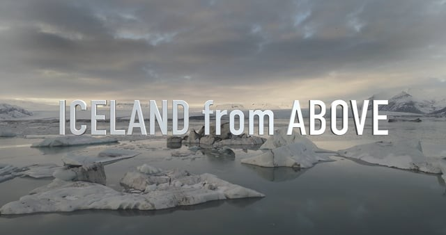 ICELAND from ABOVE 4K