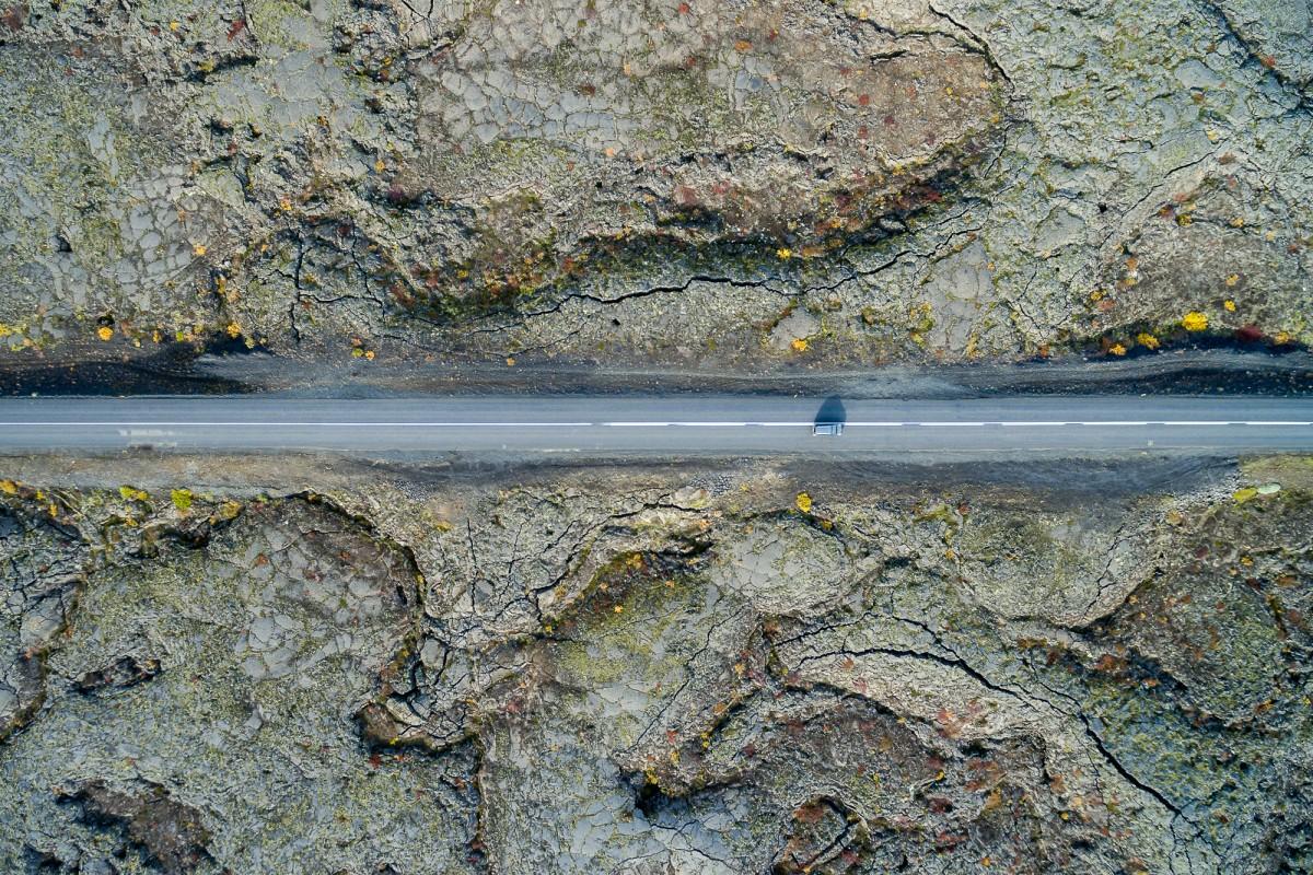 Cracked Lava Field