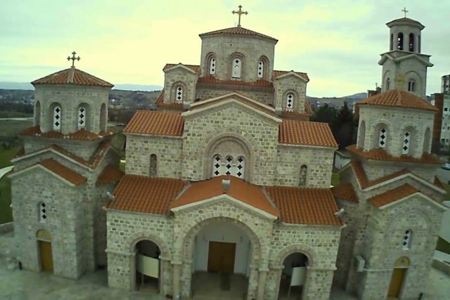 Nice drone video from a church