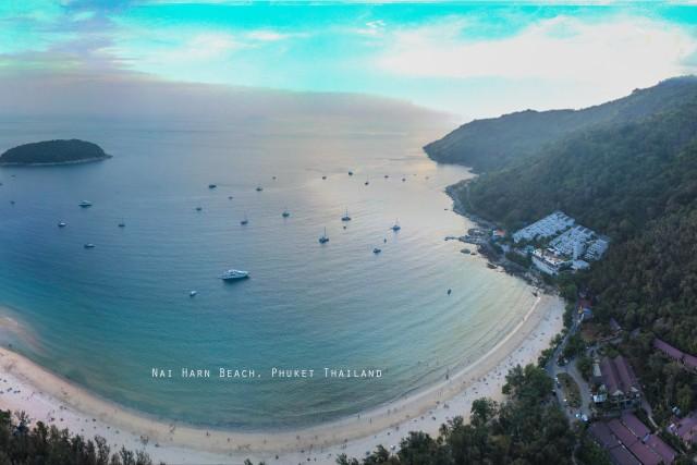 Rawai Beach – Vue Panoramique à 300 mètres de Hauteur ;)